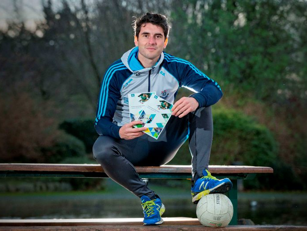 Dublin footballer, Bernard Brogan, who is President of the Federation of Irish Sport at yesterday's launch of the Federation of Irish Sport's Annual Review 2015. Photo: Morgan Treacy/INPHO