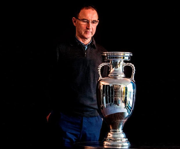 Republic of Ireland manager Martin O'Neill. Photo: David Maher/SPORTSFILE