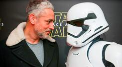 Baz Ashmawy pictured at the special event screening of Star Wars: The Force Awakens at the Savoy Cinema Dublin. Photo: Anthony Woods