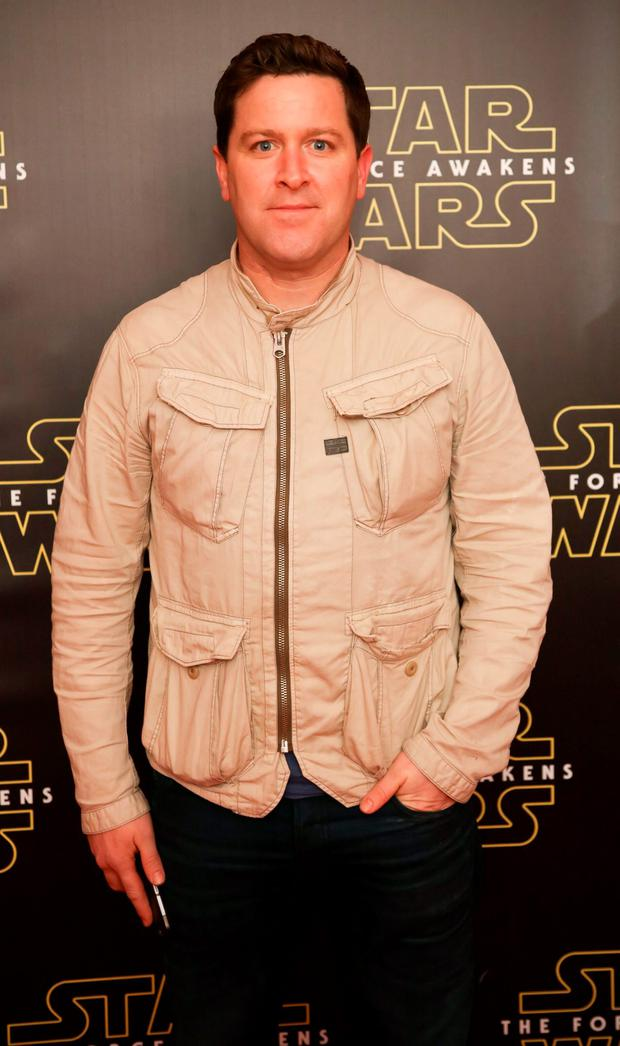 Maclean Burke pictured at the special event screening of Star Wars The Force Awakens at the Savoy Cinema Dublin. Photo Anthony Woods