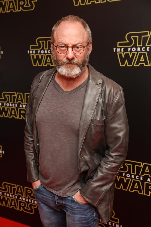 Liam Cunningham pictured at the special event screening of Star Wars The Force Awakens at the Savoy Cinema Dublin. Photo Anthony Woods