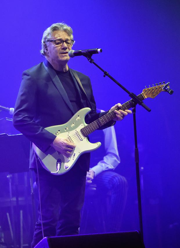 Steve Miller performs onstage during The 7th Annual Little Kids Rock Benefit at Manhattan Center Grand Ballroom on October 20, 2015 in New York City. (Photo by Mike Coppola/Getty Images for Little Kids Rock)