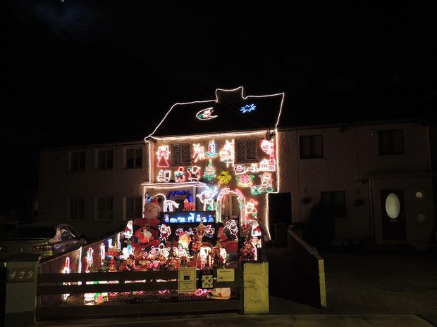 babs and martin daly sallynoggin - Best Christmas Decorated Houses