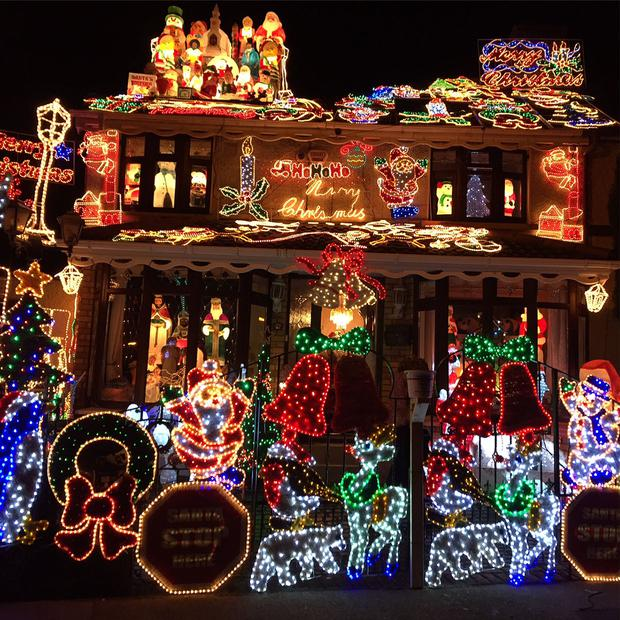 best christmas decorations josies house crumlin - Best Christmas Decorated Houses