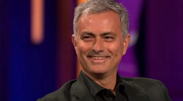 Jose Mourinho was in great form