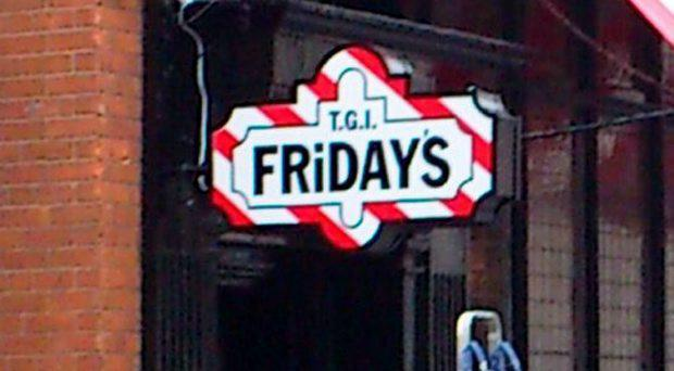 TGI Fridays in Temple Bar