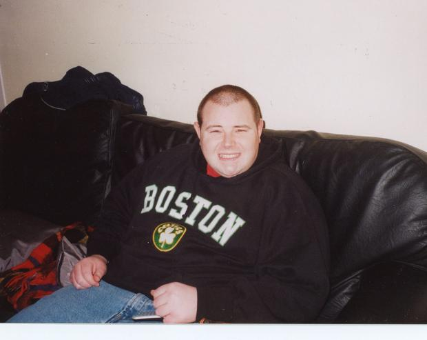 Brendan Walsh weighed 22 stone at his heaviest