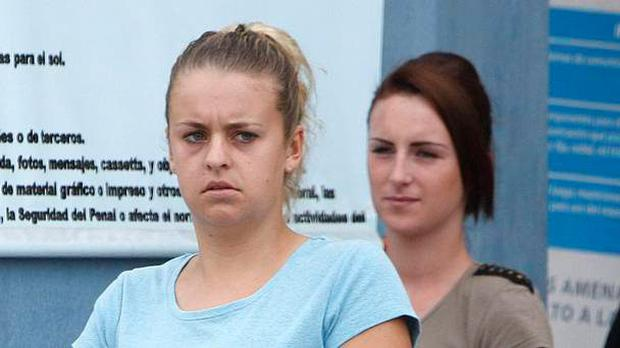Michaella McCollum and Melissa Reid are in jail in Peru after they admitted to smuggling cocaine (AP)
