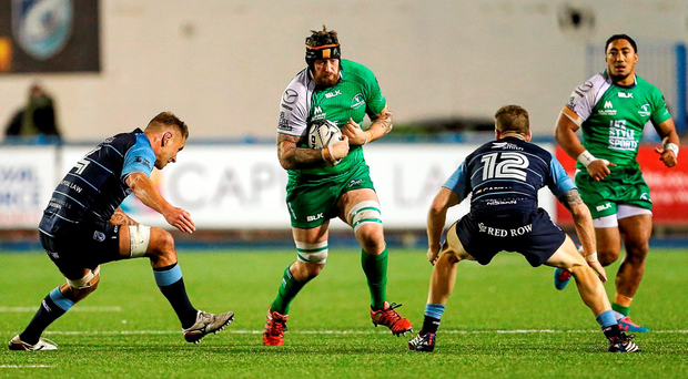 Aly Muldowney captained Connacht for the first time in the 25-10 win over Newcastle last weekend. Picture credit: Gareth Everett / SPORTSFILE