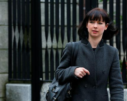 Ballet dancer Monica Loughman is involved in a legal dispute with former partner Fraser Brown. Photo: Paddy Cummins