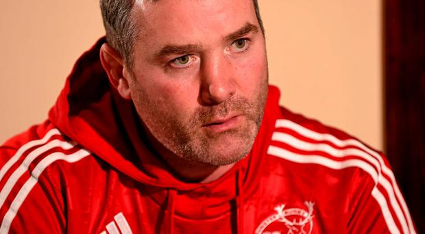 Munster head coach Anthony Foley. Picture: Diarmuid Greene / SPORTSFILE