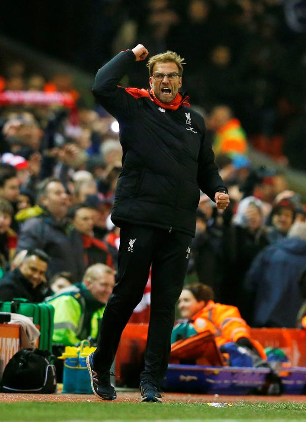 Liverpool manager Jurgen Klopp (Reuters)