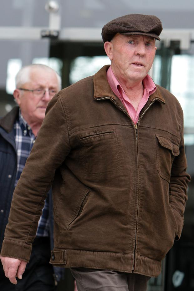 Thomas 'Slab' Murphy: convicted of tax offences. Pic: Courtpix