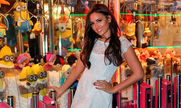 Model Nadia Forde launched visited Winter Funderland in the RDS. Picture: Colin Keegan, Collins Dublin.