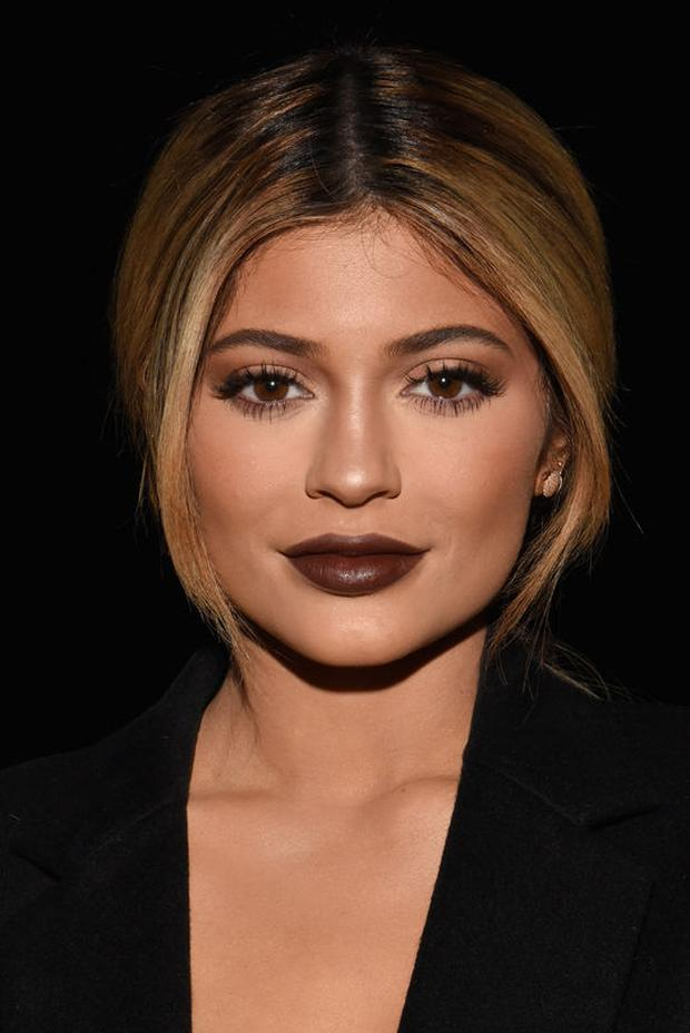 Kylie Jenner championed the high impact lips trend. Photo: Instagram