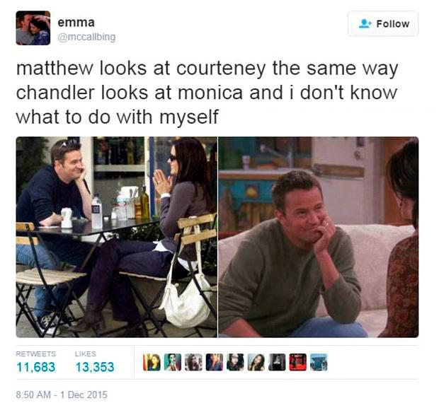 Friends fan @mccallbing tweeted these images