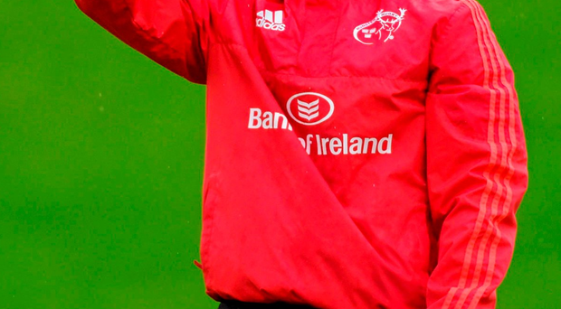 A vocal minority of Munster fans ironically cheered Ian Keatley's substitution last weekend Photo: Diarmuid Greene / SPORTSFILE