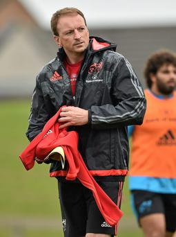 Munster 'A' coach Mick O'Driscoll has made four changes to his starting XV against Ospreys. Photo: Sportsfile.