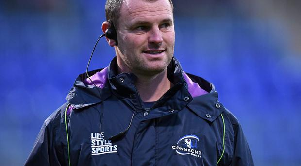 Connacht Eagles coach Nigel Carolan. Photo: Sportsfile.