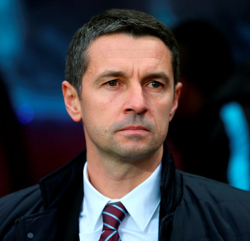 Aston Villa manager Remi Garde Photo: David Davies/PA Wire