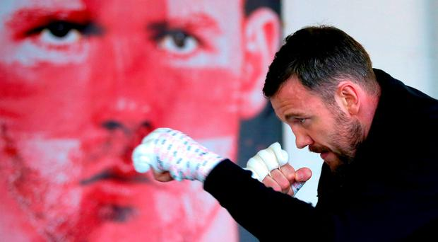 Limerick champ Andy Lees is eyeing a unification bout if he can demolish Bill Joe Saunders' unbeaten record in Manchester. Photo: Getty Images.
