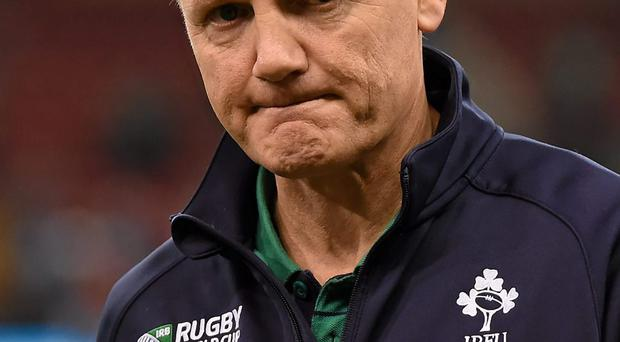 Joe Schmidt assembles his squad in the first week of the new year, while the Wales game is only seven weeks away. Photo: Sportsfile