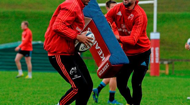 Simon Zebo and Conor Murray are senior men at Munster. Photo: Sportsfile.