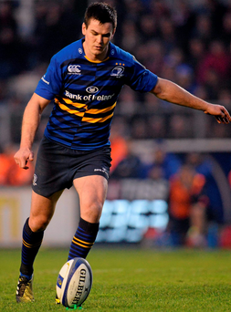 If Johnny Sexton is firing against Toulon, then so too will Leinster. Photo: Sportsfile