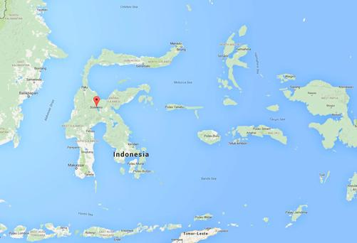 Ship carrying more than 100 passengers 'sank off the coast of Indonesia's Sulawesi'