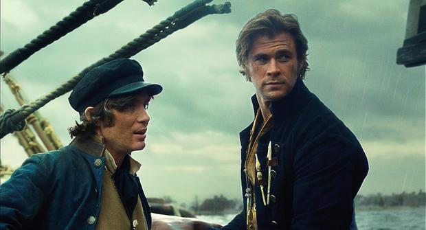 Cillian Murphy and Chris Hemsworth.