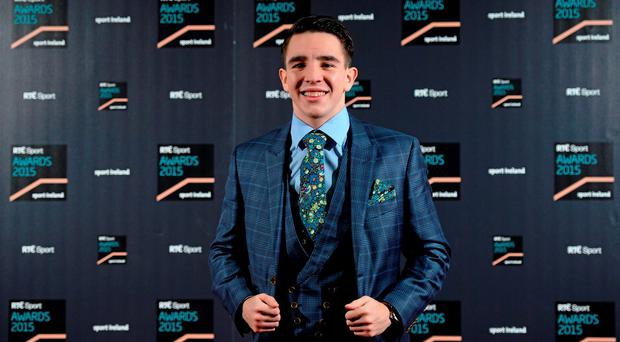 Boxer Michael Conlan at the RTE Sports Awards. RTÉ, Donnybrook, Dublin
