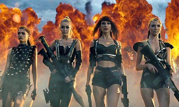 Taylor Swift in her Bad Blood video