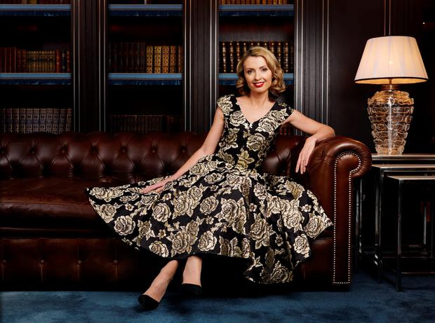 Style: Orla Diffily is sitting pretty but business hasn't always been good. Photo Barry Murphy