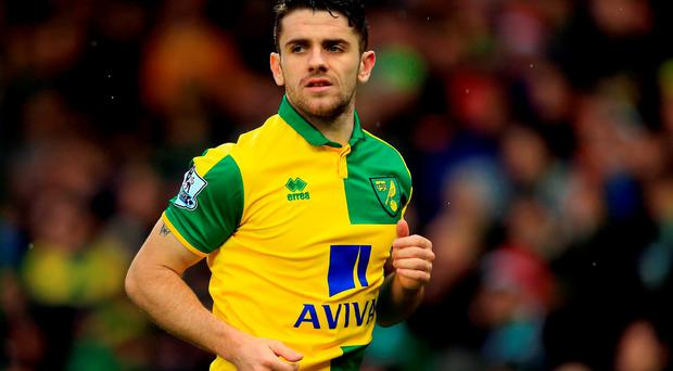 Norwich City's Robbie Brady. Photo: Stephen Pond/Getty Images