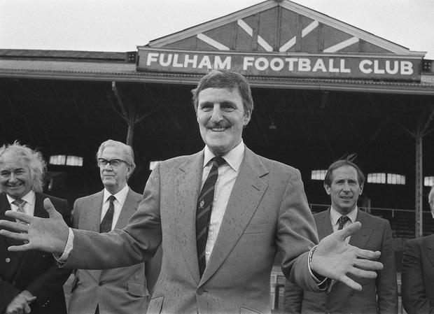 The late Jimmy Hill, who has died at the age of 87 after suffering from Alzheimer's disease