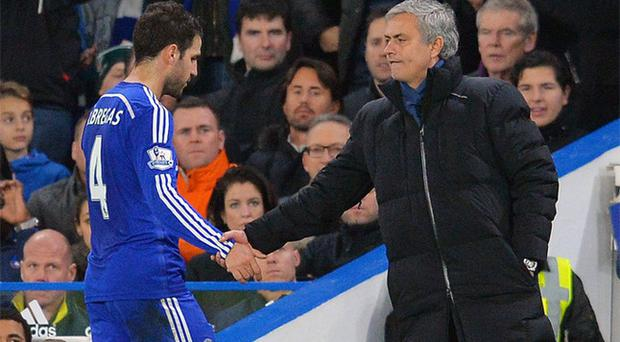 Mourinho thought Fabregas was one of his strongest allies in the Chelsea dressing room and he spoke personally with him twice in the hours before and after his sacking