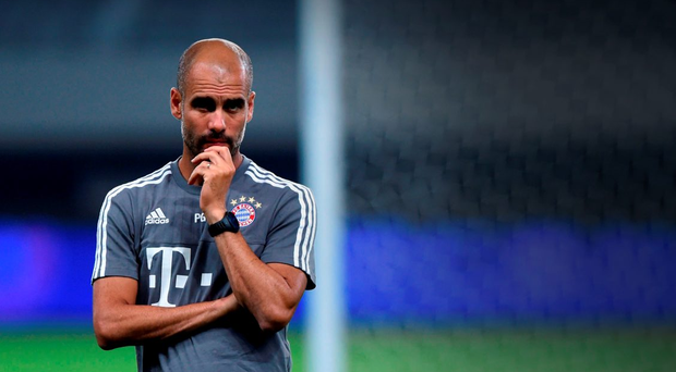 Bayern Munich's Pep Guardiola. Photo: AFP/Getty