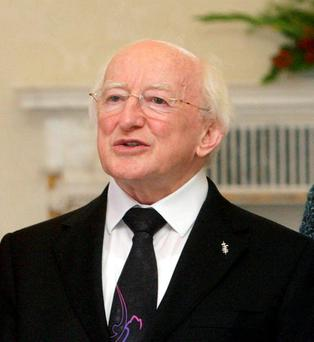 President Michael D Higgins. Photo: PA