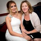 Ana Hick with her mum Elga
