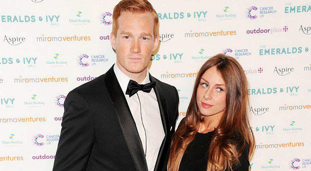 "By Victoria Ward 9:21AM GMT 21 Dec 2015 The girlfriend of Sports Personality of the Year nominee Greg Rutherford has been sent a barrage of ""derogatory, aggressive"" messages online by fans of Rutherford's rival, boxer Tyson Fury. Susie Verill, mother to the couple's one-year-old son Milo, said she was ""utterly shocked"" by the messages, comprising ""relentless suggestions of sexual punishment"". They were sent after Rutherford threatened to pull out of the BBC award show, voicing misgivings about sharing the stage with Fury. The Olympic, world, Commonwealth and European long jump champion condemned the"