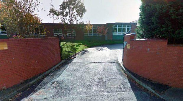 One of the pigs heads was found by the school gates of Markazul Uloom boarding school in Blackburn, the other was thrown over the fence Google Maps