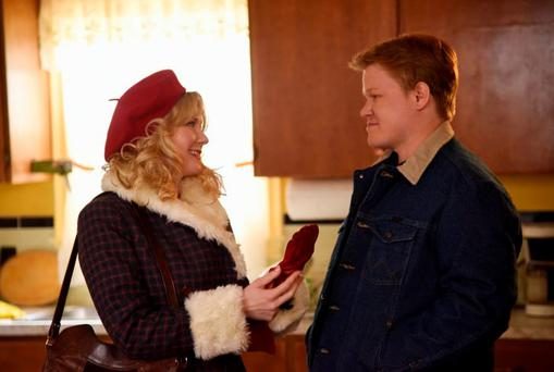 Fargo: Kirsten Dunst as Peggy and Jesse Plemons as Ed has to face up to some unpleasant facts in the finale of Fargo. CR: Chris Large/FX