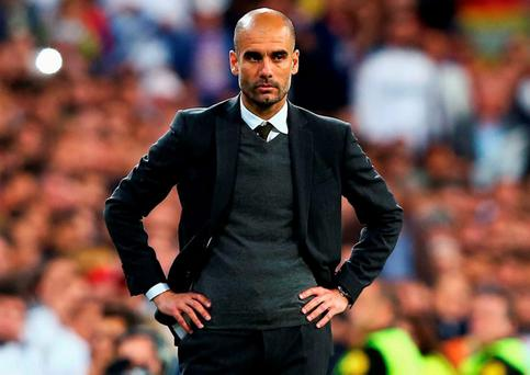 Pep Guardiola says he wants to manage in the Premier League