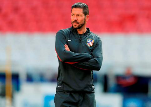 Atletico boss Diego Simeone. Nick Potts/PA Wire