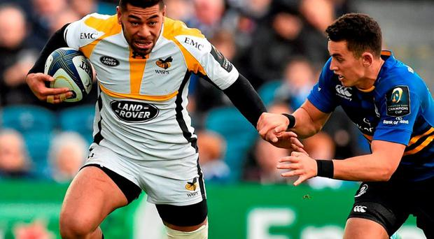 Piutau has been one of the form players across Europe so far this season but the former All Black only signed a short-term loan deal with Wasps as Ulster's overseas roster was already full for this campaign. SPORTSFILE