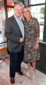 Newstalk presenter Pat Kenny and his wife Kathy. Photo: Brian McEvoy