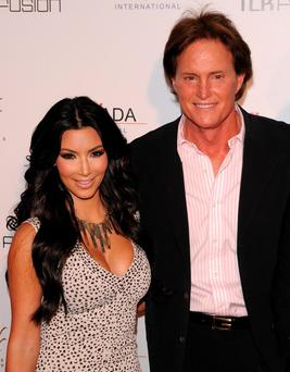 The way we were: Kim and Bruce Jenner before his gender- and name-change to Caitlyn