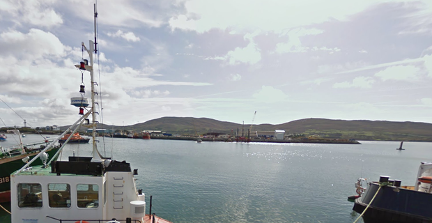 Castletownbere harbour in west Cork where the drugs were offloaded. Credit: Google Maps
