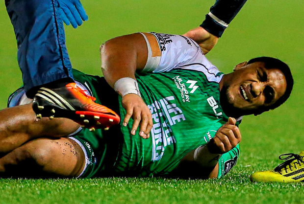 Connacht's Bundee Aki could be in the frame for Saturday