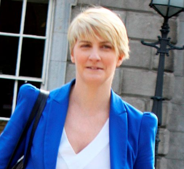 Senator Averil Power at Leinster House yesterday.Pic Tom Burke 23/9/2015